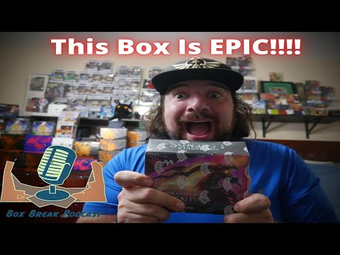 Box Break Podcast# 15 -  Commander Legends Collector Booster Box Opening - Etched Foils everywhere!!