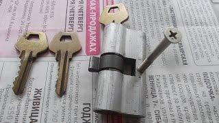 как заменить личинку замка двери(сломался замок двери оказалось заела личинка замка как заменить ее. смотрите короткое видео., 2014-11-17T11:46:24.000Z)