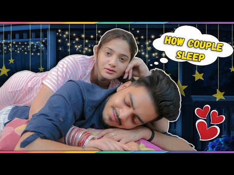 HOW COUPLE SLEEP || Rachit Rojha || Sibbu Giri