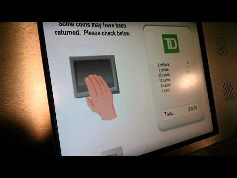 Td coin counter