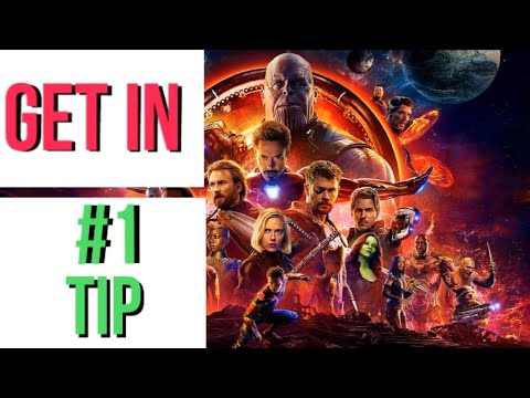 #1 Tip For How To Be In A Marvel Movie