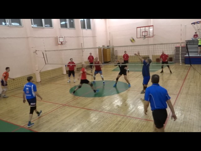 Фортуна 40+ - СССР-1, КВЛ, волейбол, Лига 40+, 07.11.16