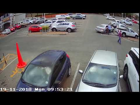 CCTV footage of fatal shooting in Polokwane