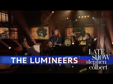 Mike Jones - The Lumineers Perform Gloria On The Late Show With Stephen Colbert