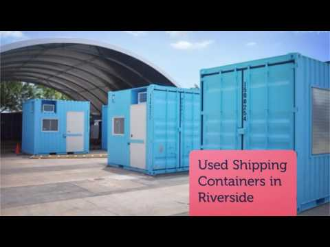 Mobil Container Solutions : Used Shipping Containers In Riverside