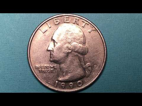 US 1990 P Quarter Dollar