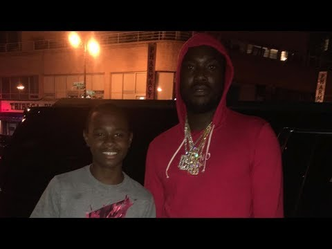"""Young rapper impresses Meek Mill with on the spot bars: """"Get yourself to the studio man!"""""""