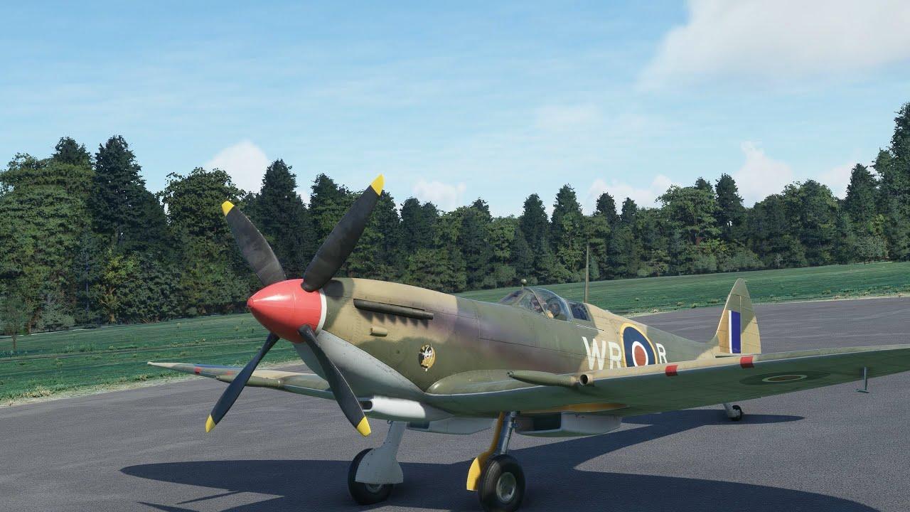 噴火戰鬥機 Spitfire Flight Simulator 2020