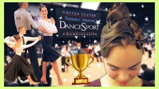 DanceSport Ballroom Dance Nationals 2019 (vlog)