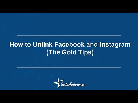 How To Unlink Facebook And Instagram Instafollowers