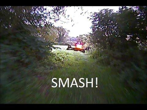 FPV Drone Video: Drone Racing Smash