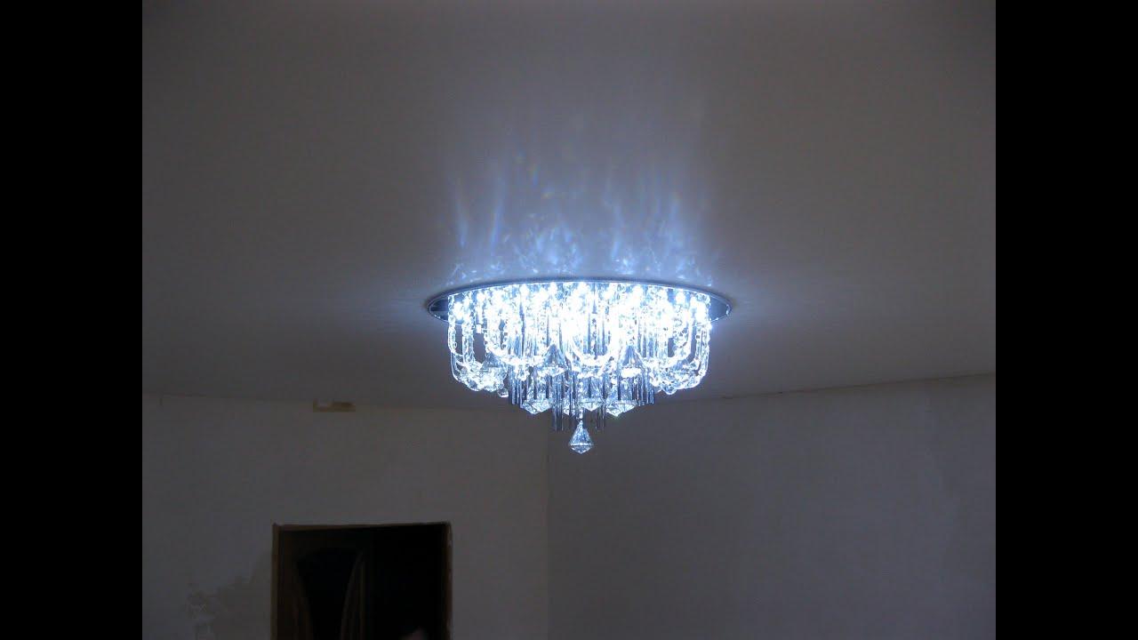 Установка люстры на натяжной потолок своими руками фото 18
