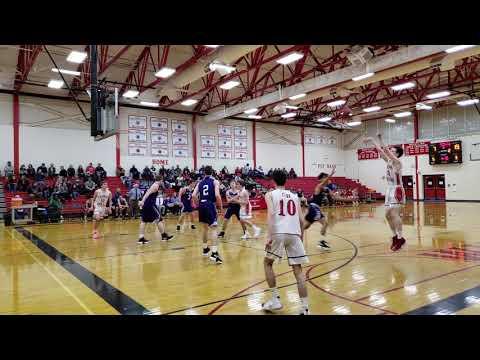 Hampden Academy at Camden Hills boys basketball