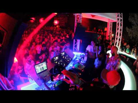 DJ Marky & Friends At Sun And Bass 2014 With Collette Warren