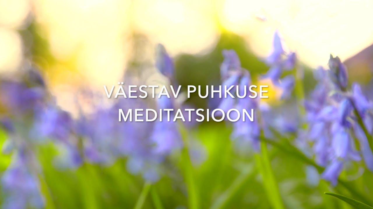 Väestav puhkuse meditatsioon (ONLINE)