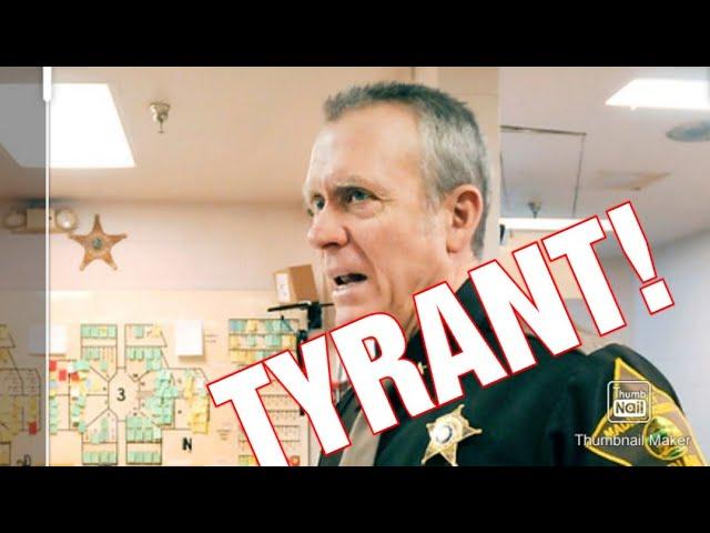 TYRANT SHERIFF MELINGER! 1ST AMENDMENT AUDIT! Anderson, Indiana!