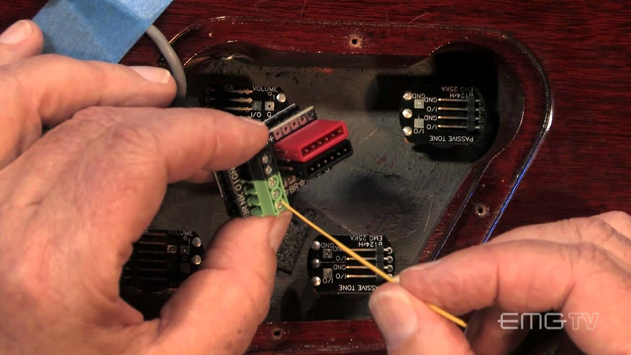 Großzügig Verkabelung Humbucker Pickups Ideen - Schaltplan Serie ...