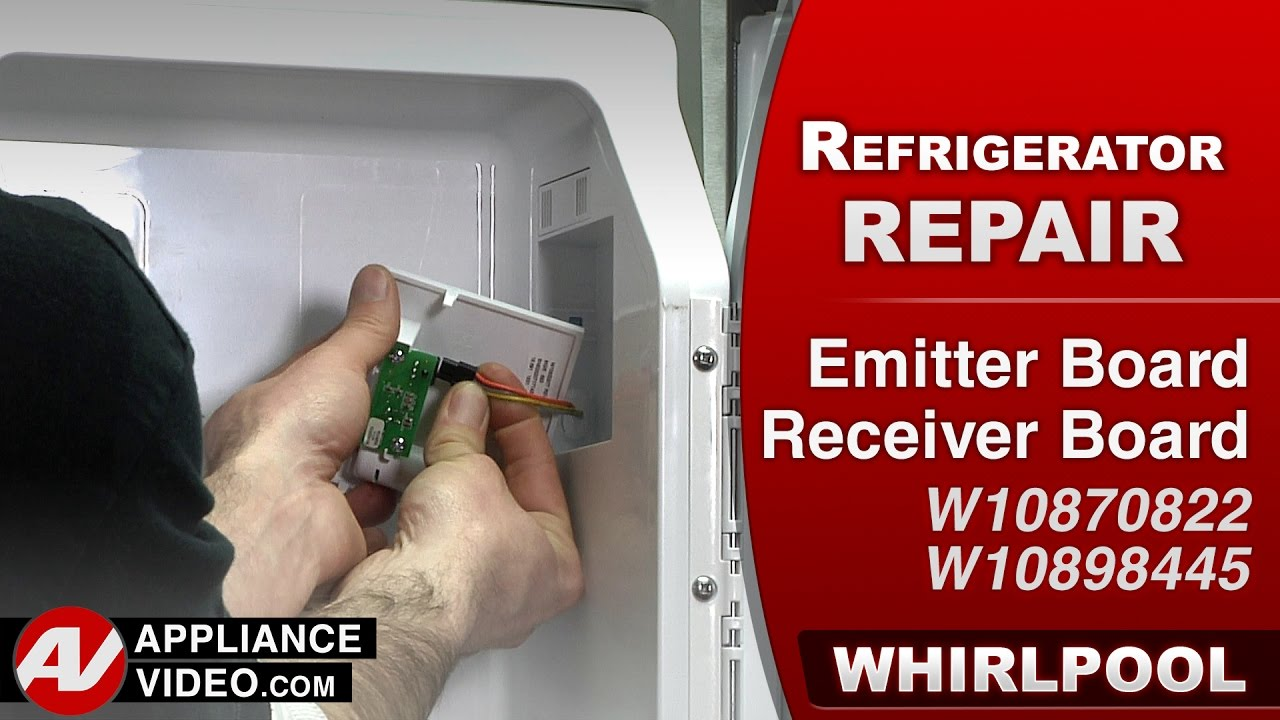 Whirlpool, Maytag U0026 KitchenAid   Emitter Receiver Boards   Diagnostic U0026  Repair