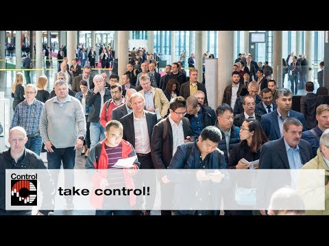 Control 2018   24.–27.04.2018 Best business with pleasure