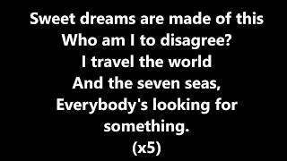 Download Weezer - Sweet Dreams (Are Made Of This) (Lyrics) Mp3 and Videos