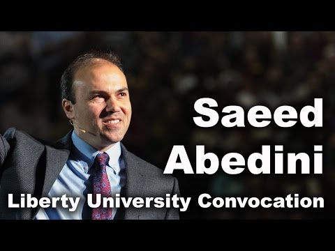 Saeed Abedini - Liberty University Convocation
