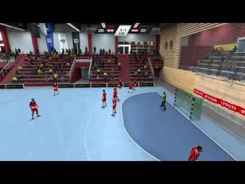 IHF Handball 2013 Gameplay - Croatia - Egypt Travel Video
