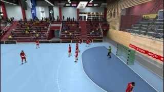 IHF Handball 2013 Gameplay - Croatia - Egypt