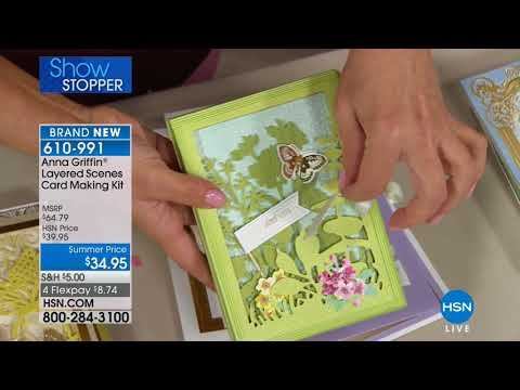 HSN | Anna Griffin Elegant Paper Crafting 05.02.2018 - 02 AM