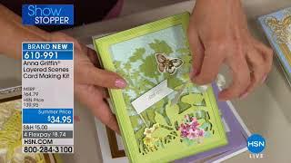 HSN   Anna Griffin Elegant Paper Crafting 05.02.2018 - 02 AM