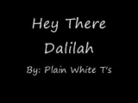 Hey There Delilah-Lyrics