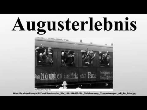 Augusterlebnis