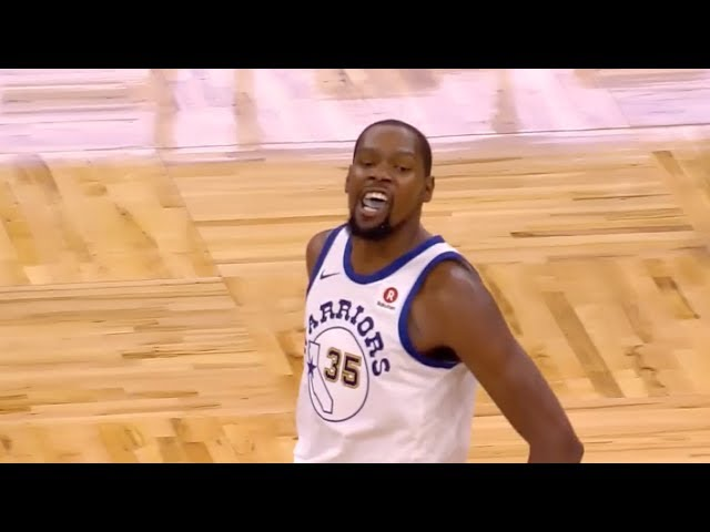 Warriors' Kevin Durant Ejected for Arguing vs. Magic