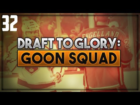 "NHL 18 - Draft To Glory: Goon Squad Franchise Mode #32 ""The Plan?"""
