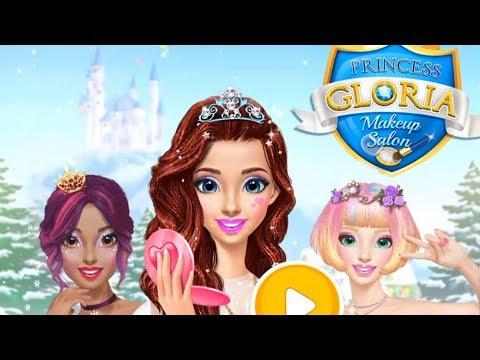 Princess Gloria Make Up Salon - Kids Make Up Game - Princess  Dress Up Makeover Games For Girls