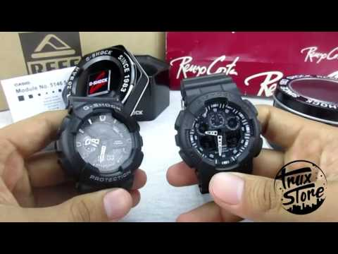 521332adf0f8 CASIO G SHOCK 110 review (Vs Fake) TRUXSTORE tu tienda mas cercana... -  YouTube