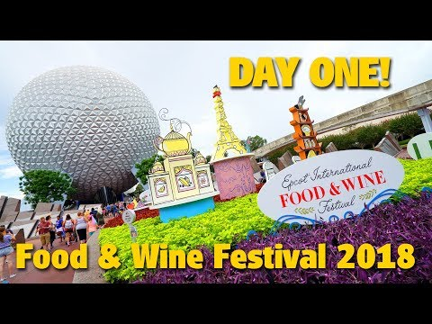 Day One of Food & Wine Festival 2018 | Epcot