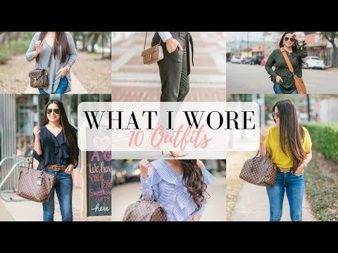 WHAT I WORE - 10 Outfit Ideas - 2/20/18 | LuxMommy