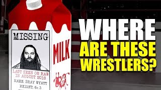 These WWE Wrestlers Haven't Been Seen in MONTHS! (Have They QUIT or Been Released?)