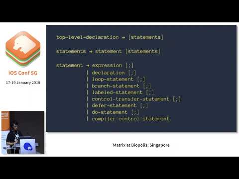Make your own code formatter in Swift - iOS Conf SG 2019