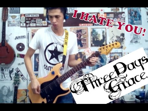 I Hate Everything About You Three Days Graceguitar Coverwith