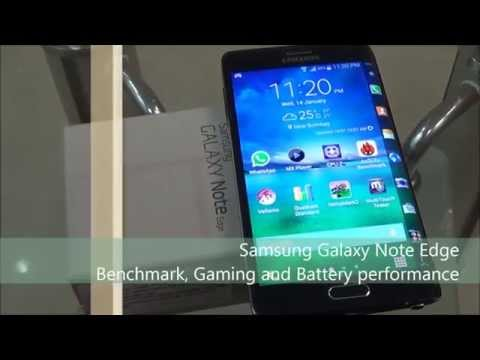 Samsung Galaxy Note Edge Benchmark, Gaming And Battery Performance