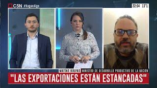 Entrevista al ministro Matías Kulfas en Hagan Algo