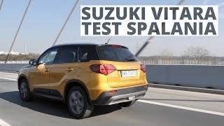 Suzuki Vitara 1.0 Boosterjet 111 KM (MT) - pomiar zużycia paliwa
