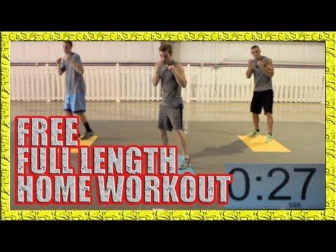 FREE Home Workout Part 1 - NO WEIGHTS, NO PROBLEM!
