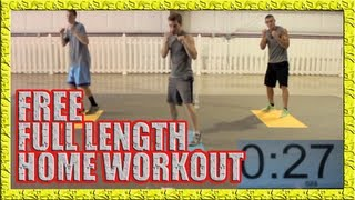 FREE Home Workout Part 1 - NO WEIGHTS, NO PROBLEM!