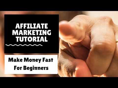 🔺 Affiliate Marketing Tutorial For Beginners 💥 Make Money Online fast #affiliatemarketingtutorial thumbnail