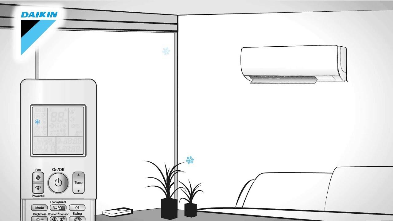 Manuale D Uso Telecomando Climatizzatore Daikin Dc Inverter Serie K