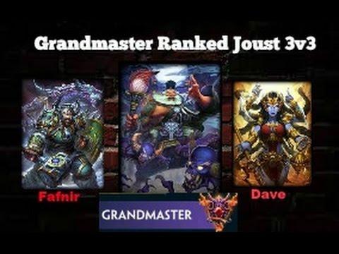Smite: Grandmaster Ranked Joust THE HIDDEN GEM (Zhong Kui)