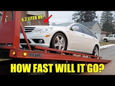Taking Delivery Of An R63 AMG With A CRAZY History! Dealer MISDIAGNOSED Engine! Fixed At Home!