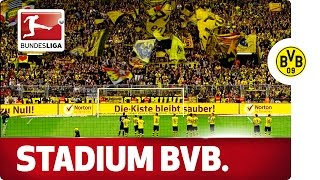 The Home of Borussia Dortmund - Footballing Temple with an Incredible Atmosphere